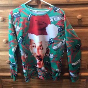 WILL SMITH CHRISTMAS SWEATSHIRT